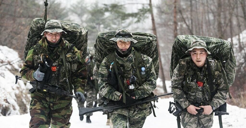 south korean marines