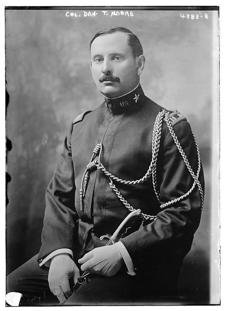 Colonel Dan T. Moore (1877-1941) commanded the 349th Field Artillery Regiment in France during World War I.