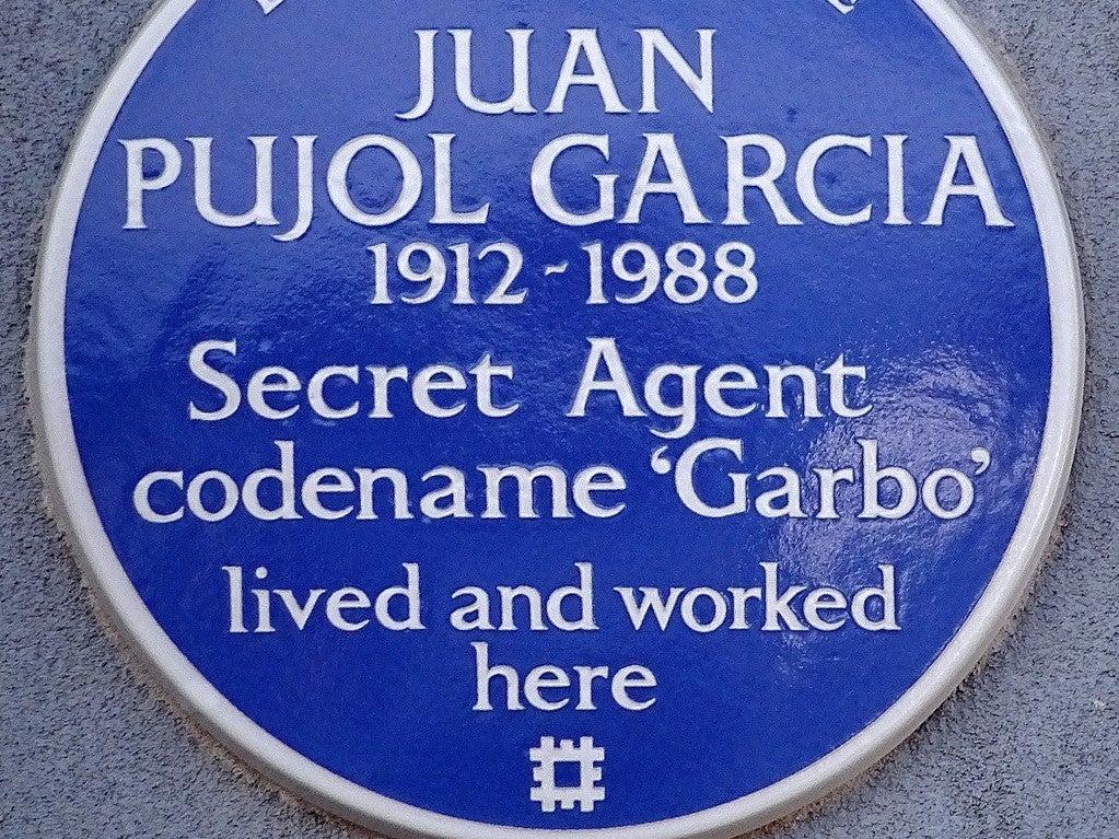 Juan Pujol Garcia sticker