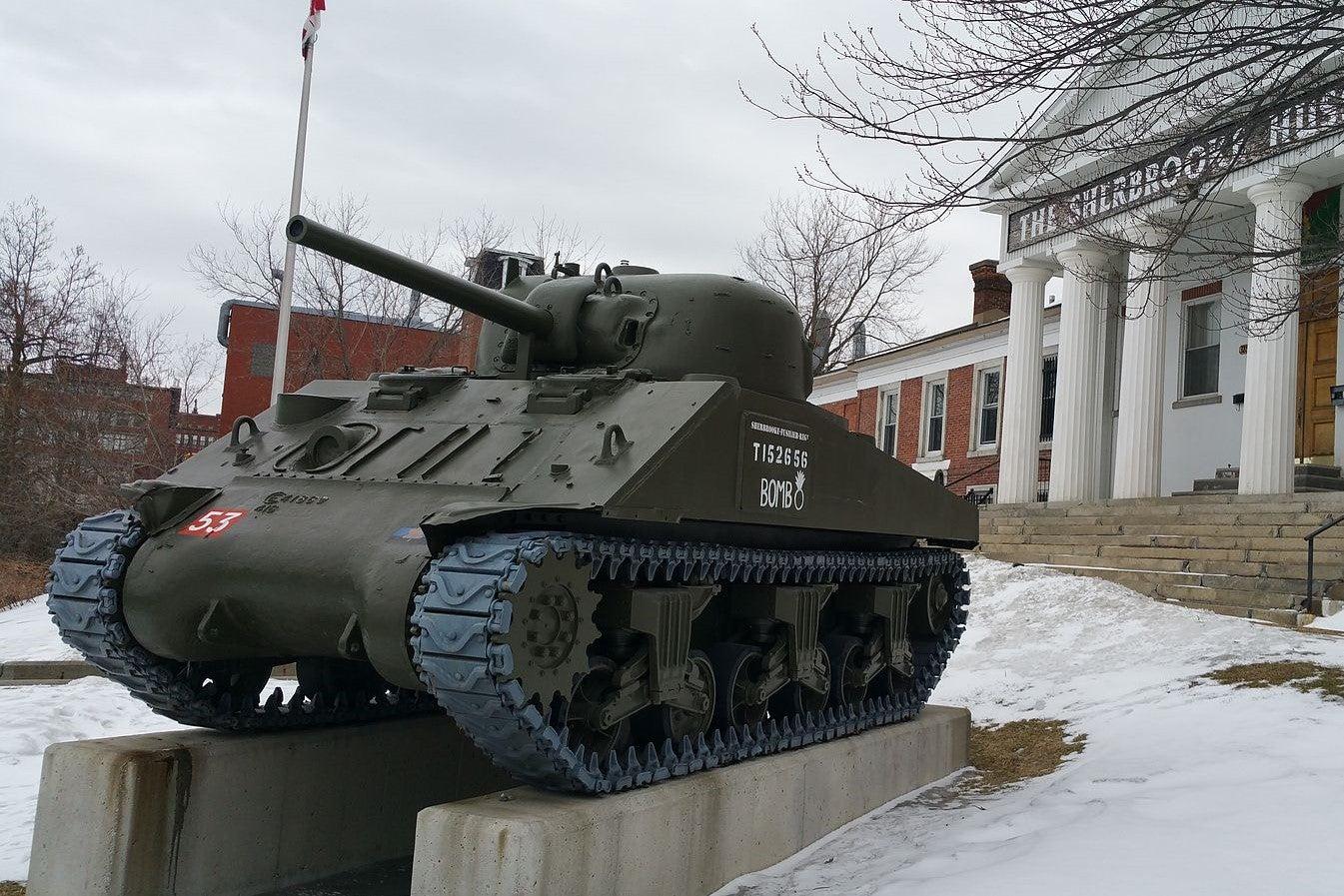 Bomb Canadian Tank