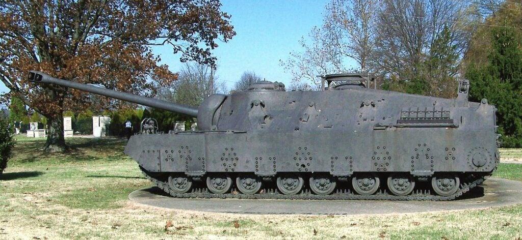 T28 Super Heavy Tank, Patton Museum, Fort Knox, Kentucky