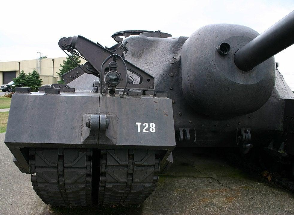 t-28 tank