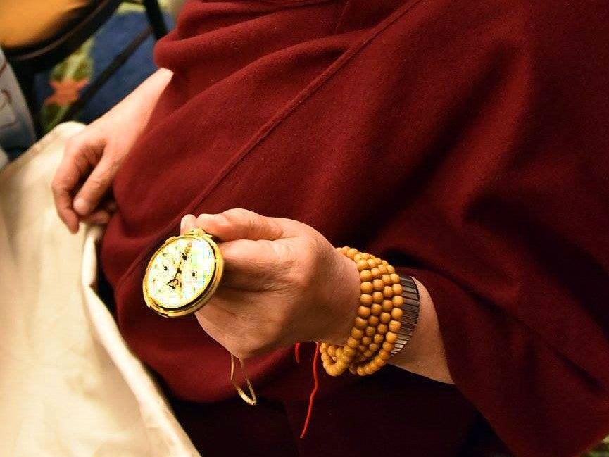 dalai lama patak philippe watch
