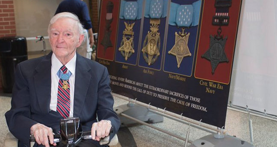 America mourns the loss of last living WWII Medal of Honor recipient