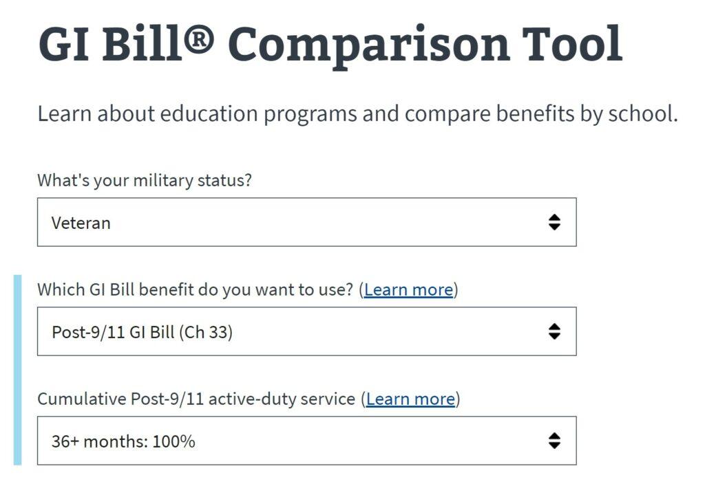 The GI Bill can help veterans earn Master's degrees