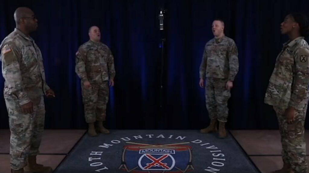 10th Mountain Division Quartet (Facebook)