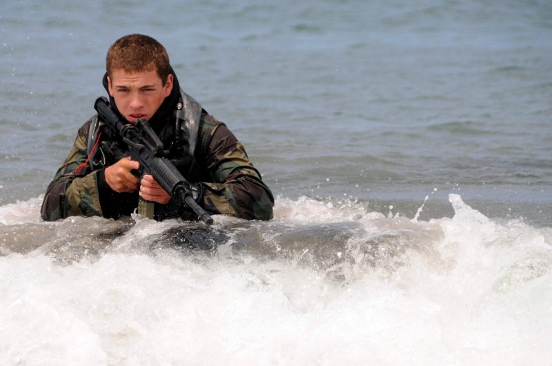 navy SEAL the rock