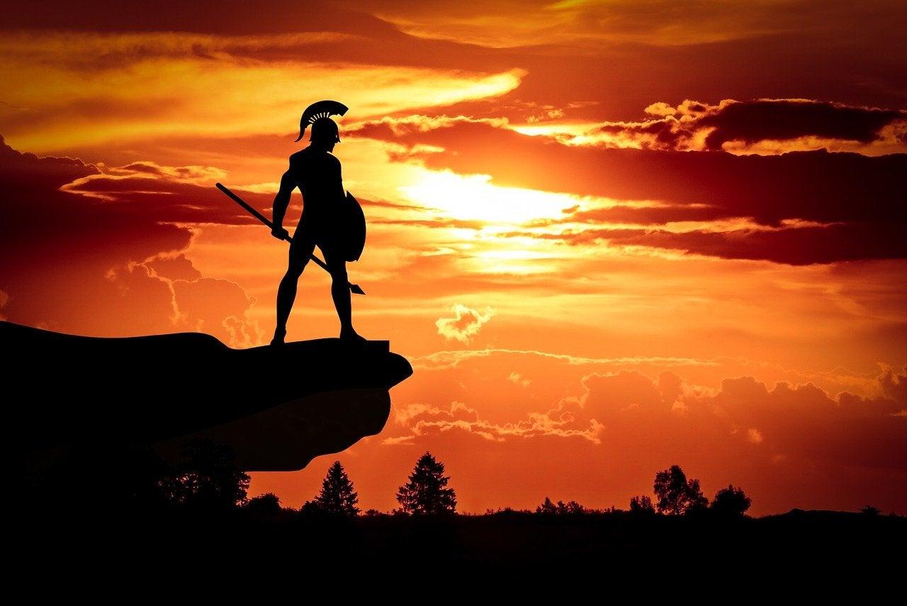 ancient roman warrior
