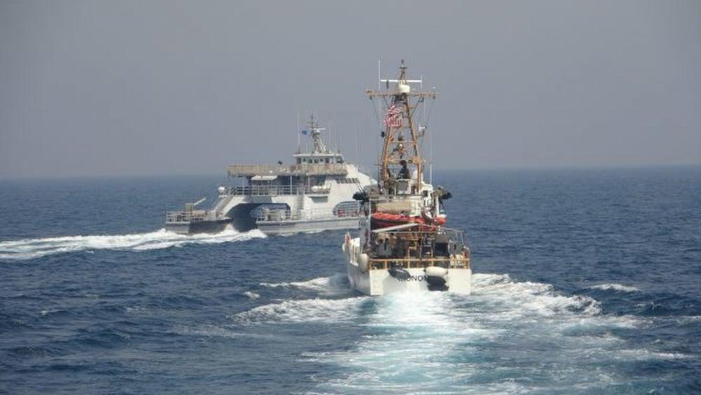 US Navy fired warning shots at Iran