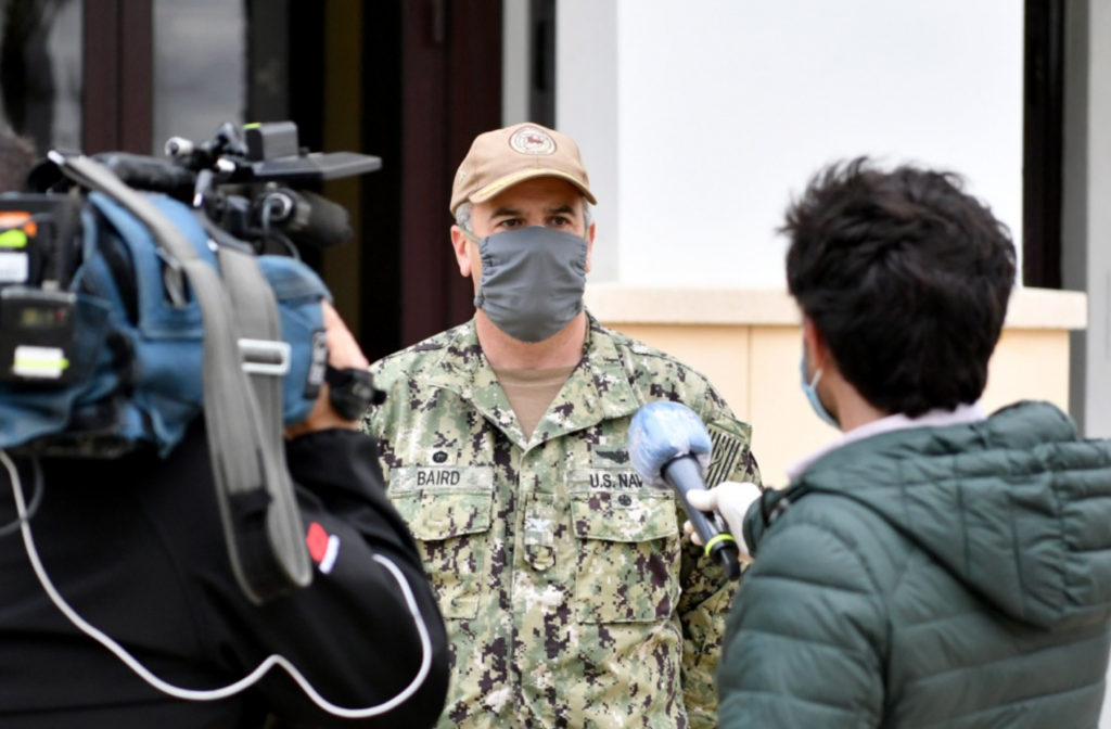 Leadership in the face of a pandemic: How one Commanding Officer kept his community safe