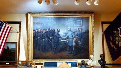 The famous Civil War surrender painting isn't at the Smithsonian