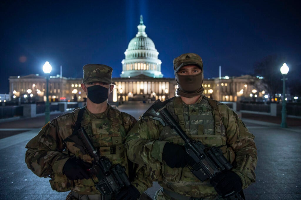 The Capitol Building might be getting its own quick-reaction force