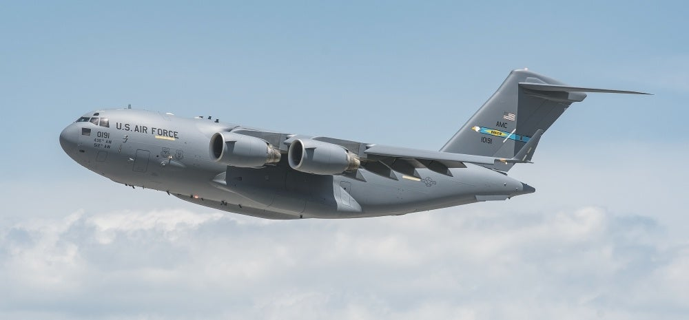 Stunning photo inside US air force plane leaving Kabul