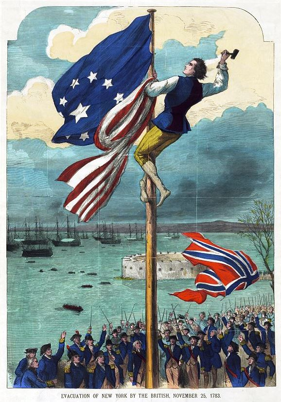 How the British Army trolled the colonists after leaving New York