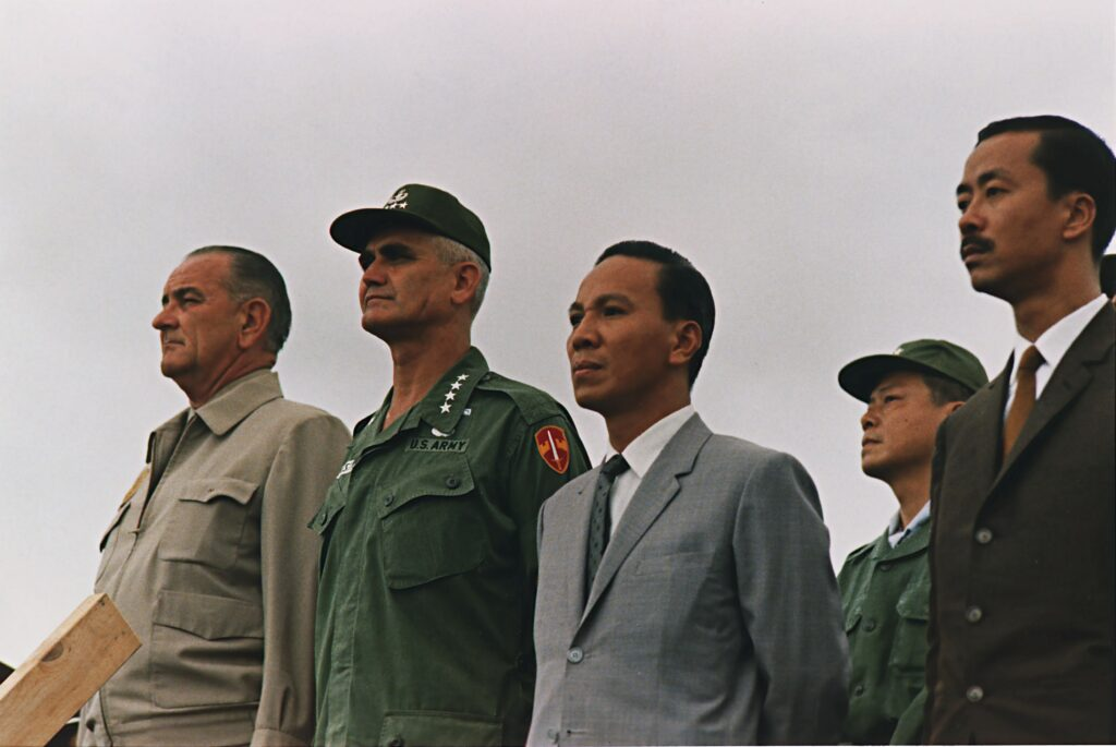 South Vietnam's former leader ended his career in a liquor store in California