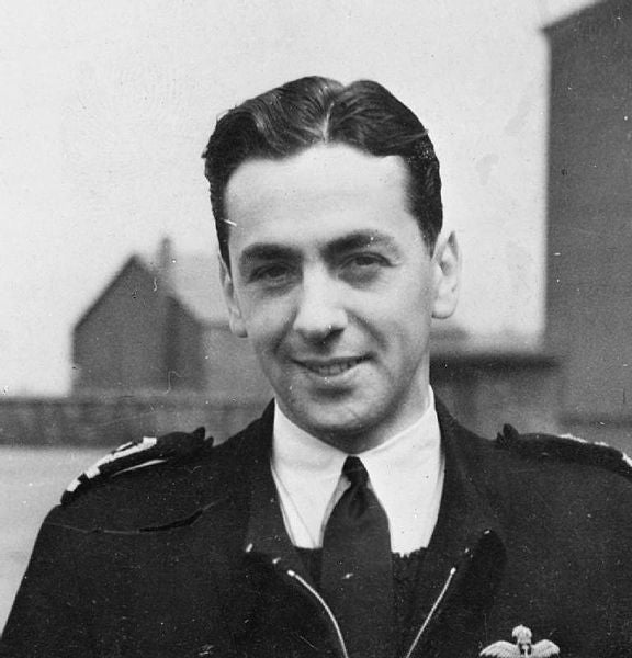 This is the most decorated pilot in the history of the Royal Navy