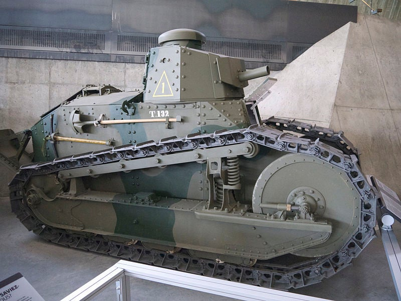 The first American-designed tank in combat didn't fight with US troops first