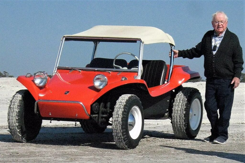 Before he invented the dune buggy, Bruce Meyers survived two kamikazes attacks