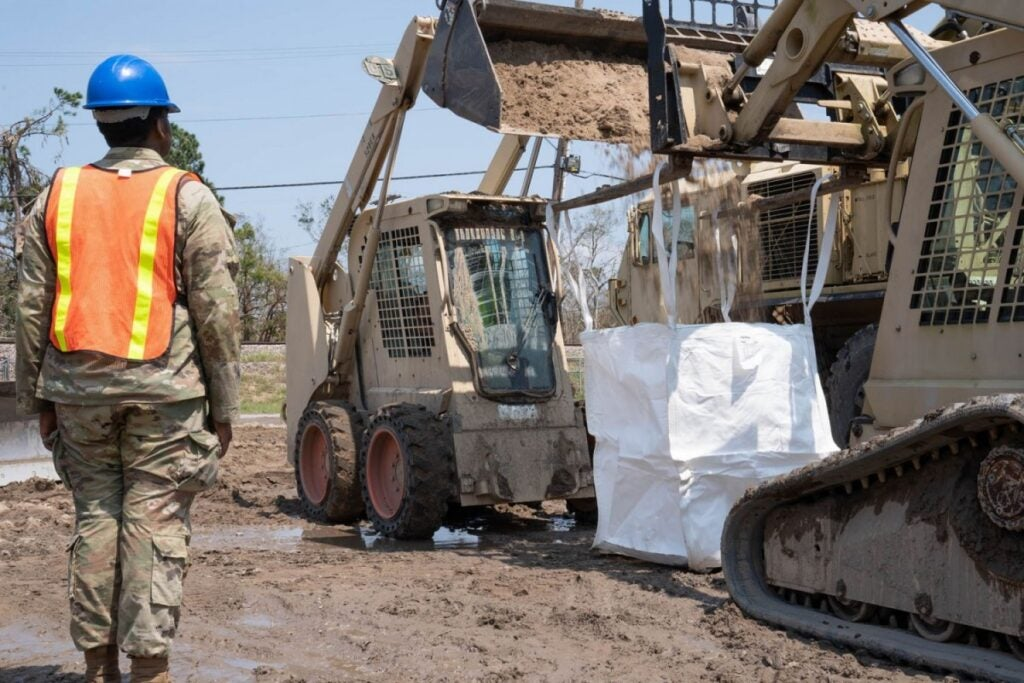 How the Louisiana National Guard assisted recovery efforts following Hurricane Ida
