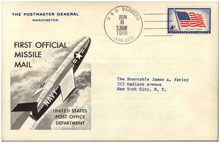 That time the Postal Service sent mail via cruise missile