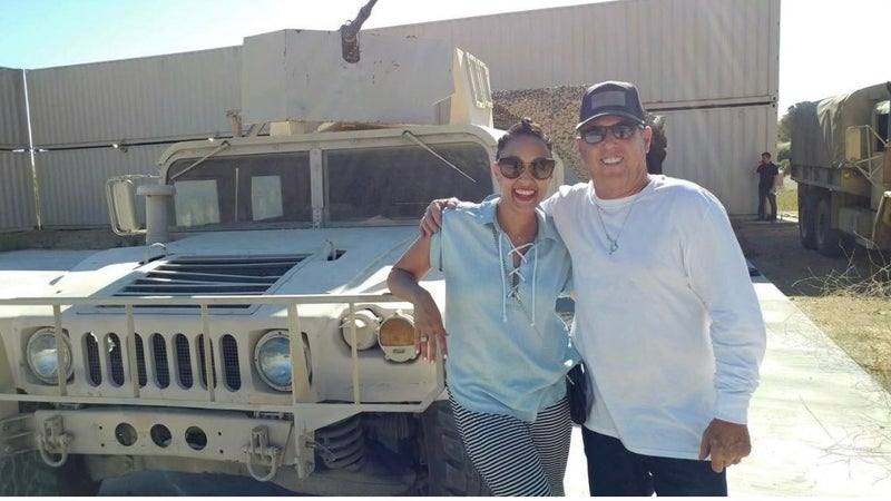 Army brat and actress Tia Mowry partners with USAA on safe driving