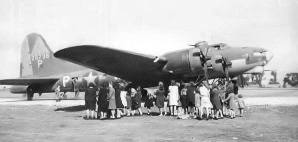 These WWII bombers were converted into gunships