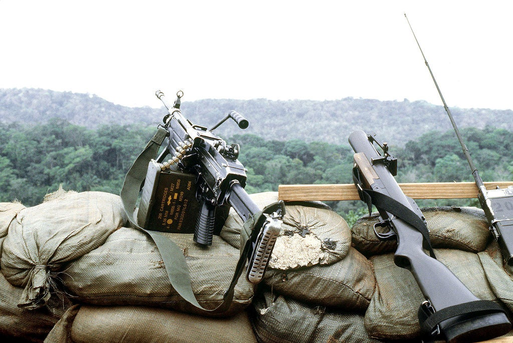The Navy built this pump-action grenade launcher for SEALs in Vietnam