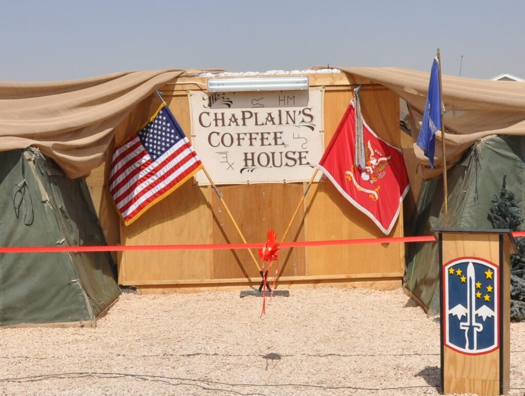 Global Coffee Company CEO goes all in for Team USO