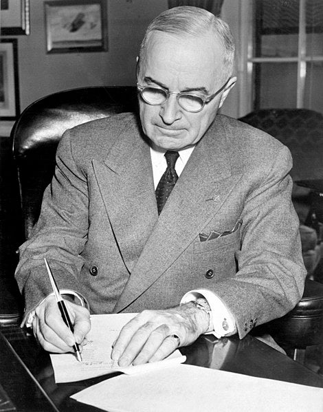 Why President Truman ordered this NCO interred at Arlington National Cemetery