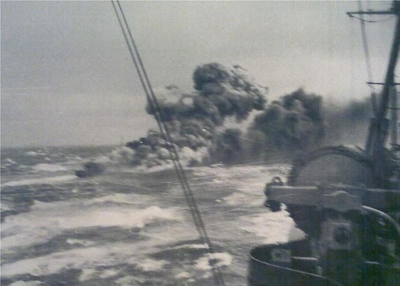 The most honorable act between World War II enemies happened at sea