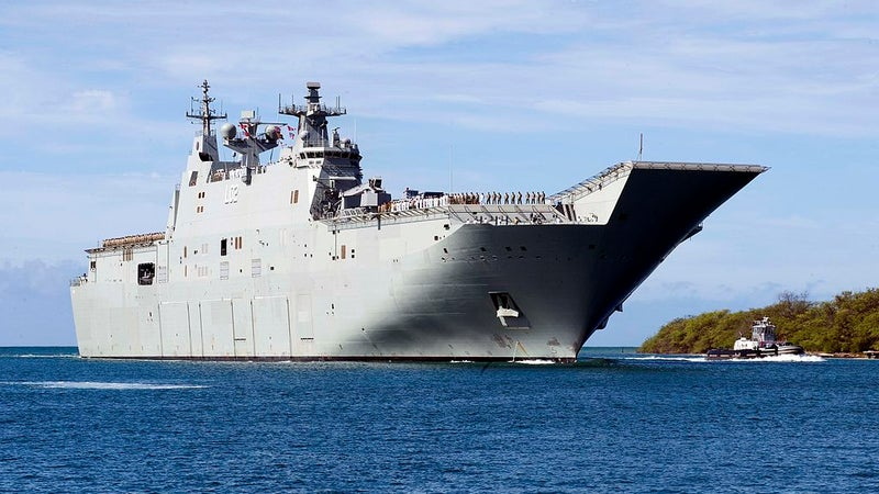 This is how Australia is standing up to China in the south sea