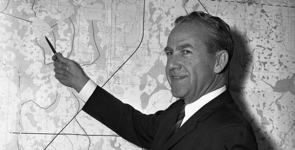 This Army General helped Walt Disney build his Magic Kingdom in a swamp