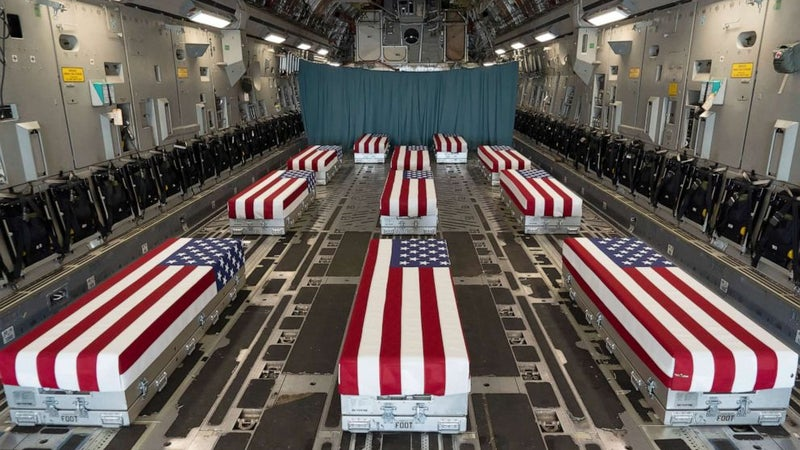 House passes bill to award Congressional Gold Medal to 13 troops killed at Kabul Airport