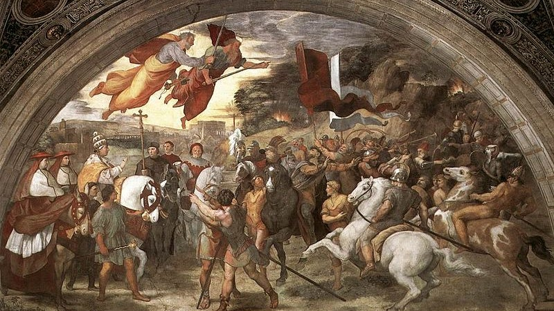 This is how the Roman army defeated Attila the Hun