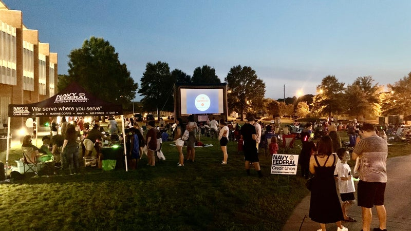Navy Federal 'Movie Nights' donates $60k to nonprofits across the country