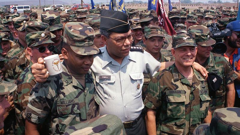 Veterans remember the incredible leadership of General Colin Powell