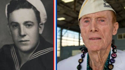 This Pearl Harbor survivor and decorated WWII vet is asking for birthday cards for his 100th