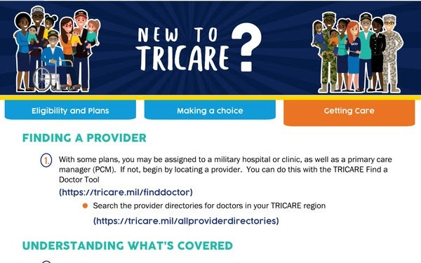 Here are the type of TRICARE plans you can have