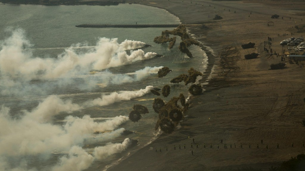 The US military took these incredible photos in just one week-long period