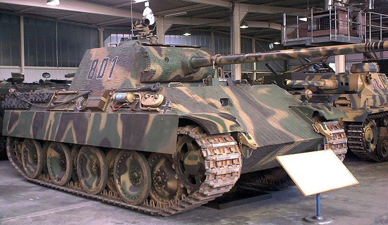 A 78-year-old German man was hiding a full-size tank in his basement