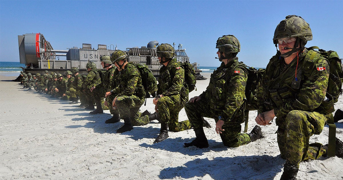 Canadian and US generals discussed the possibility of fully 'integrating' the two countries' militaries