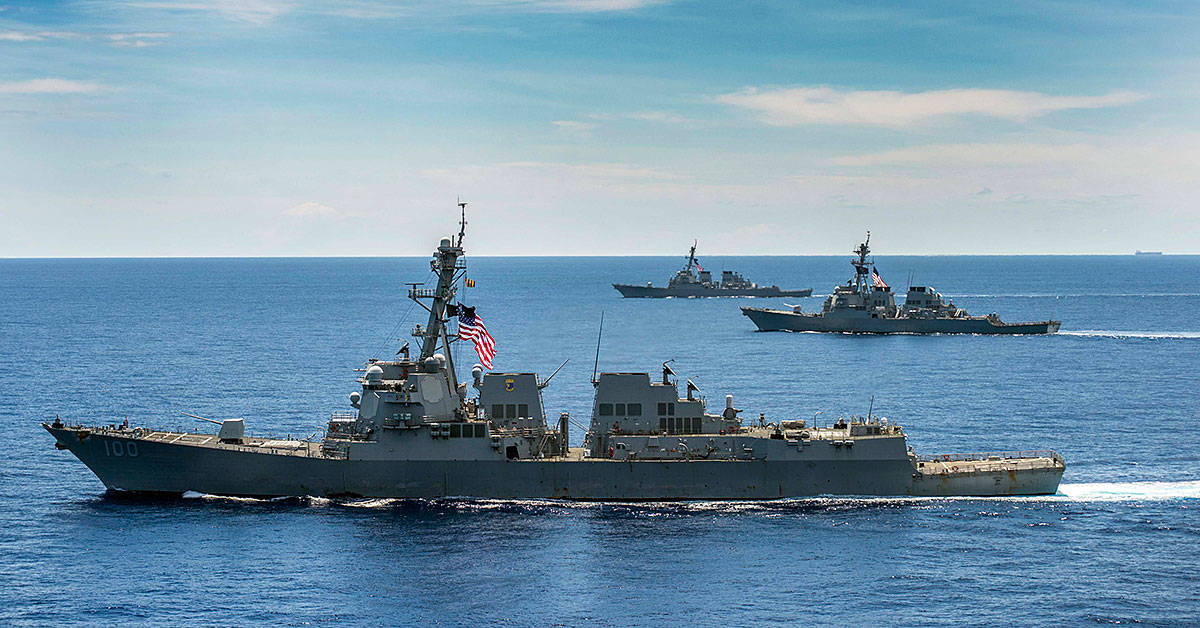 This is the White House plan to play 'chicken' with Beijing in the South China Sea