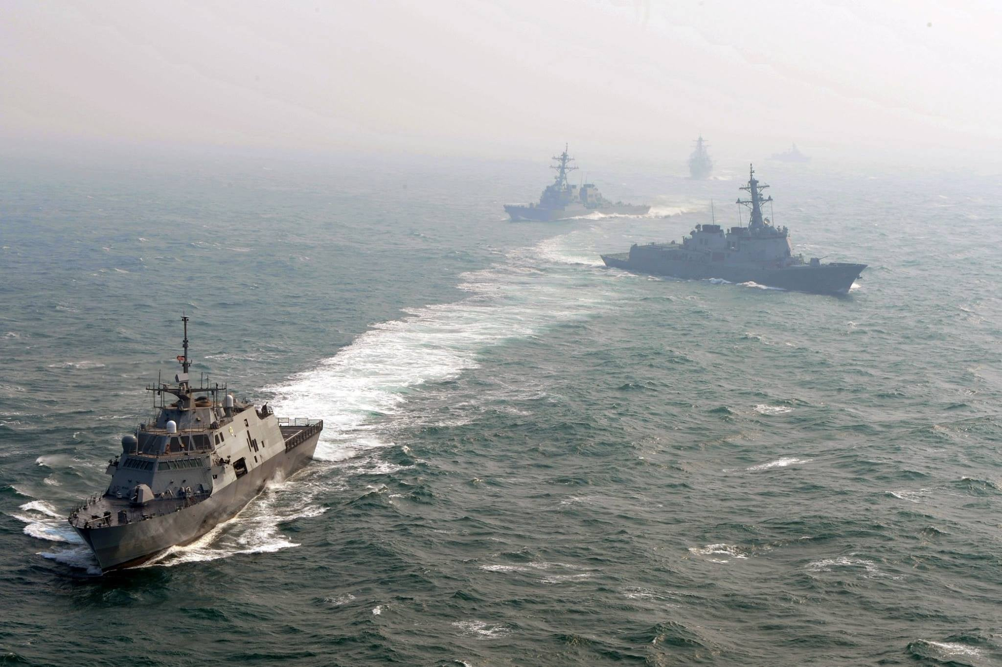 Are the US and China coming closer to blows in South China Sea?