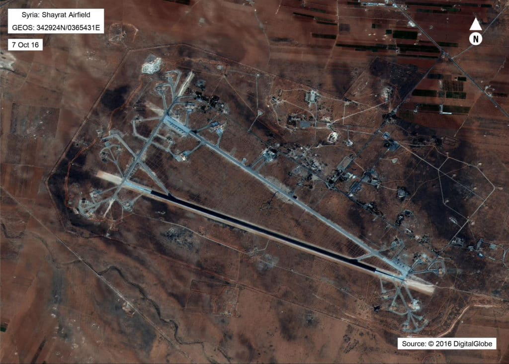 Here's how the US hit that Syrian airbase
