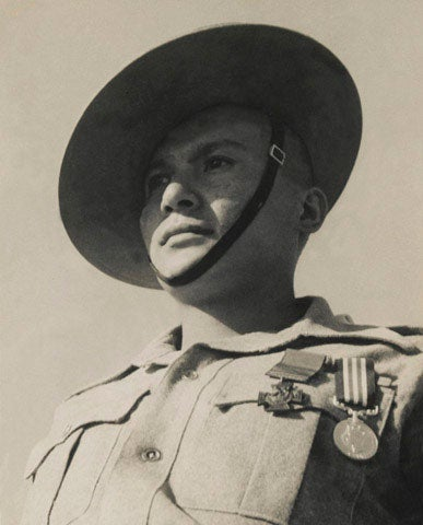 This lone Gurkha rifleman stopped three Japanese tanks in their tracks