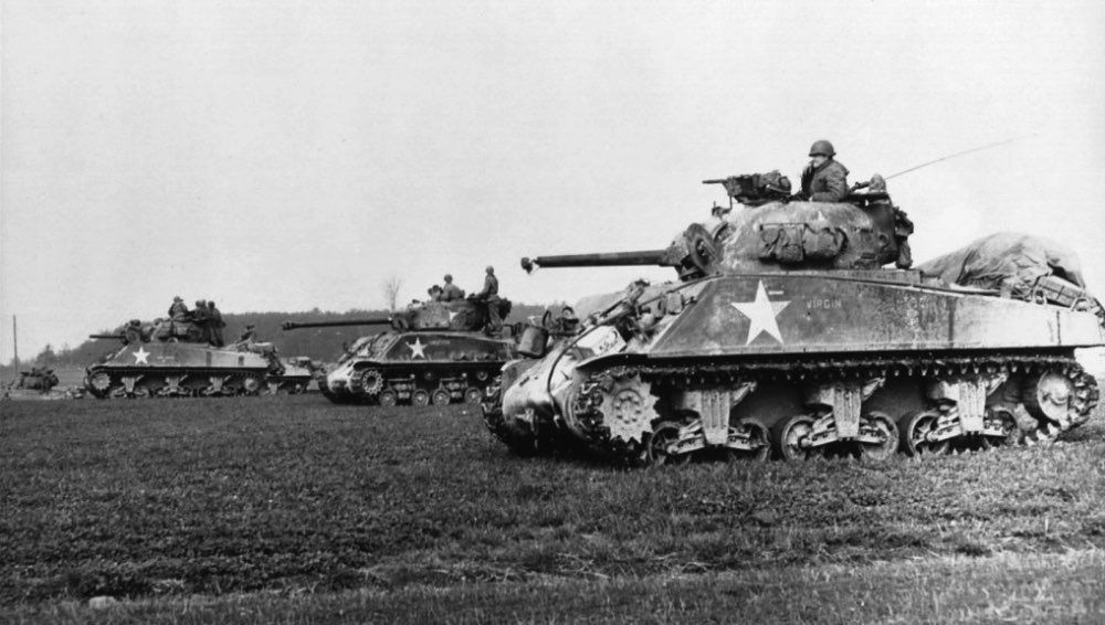 See what it was like to fight in a WWII Sherman tank