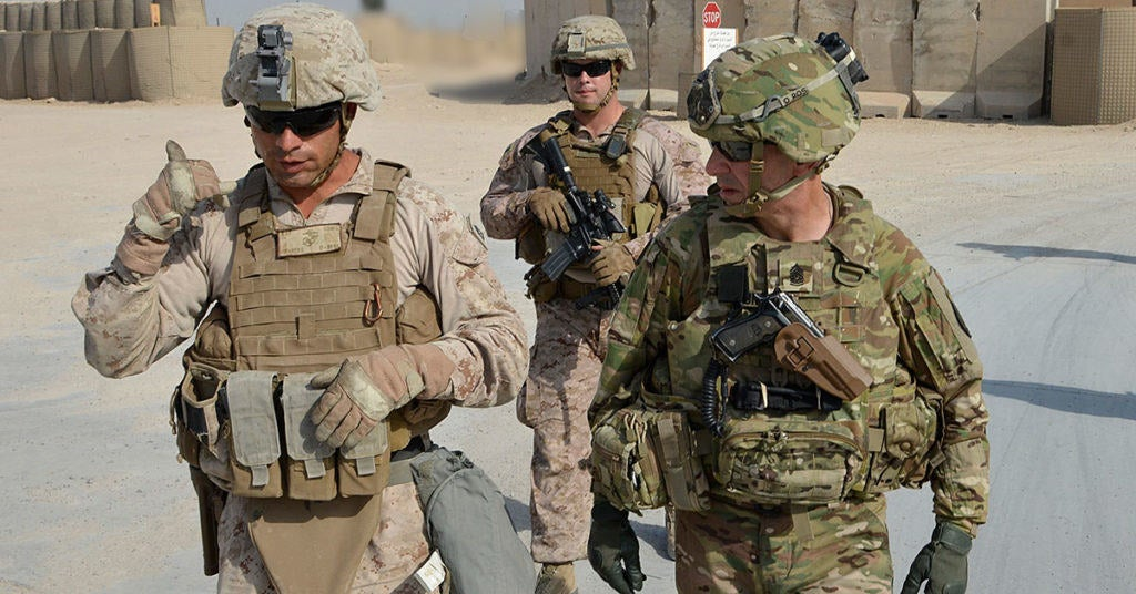 Here are the US troops that are fighting on the ground (and in the air) for Mosul