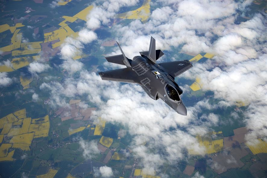 The F-35 could shoot down ballistic missiles — with one catch