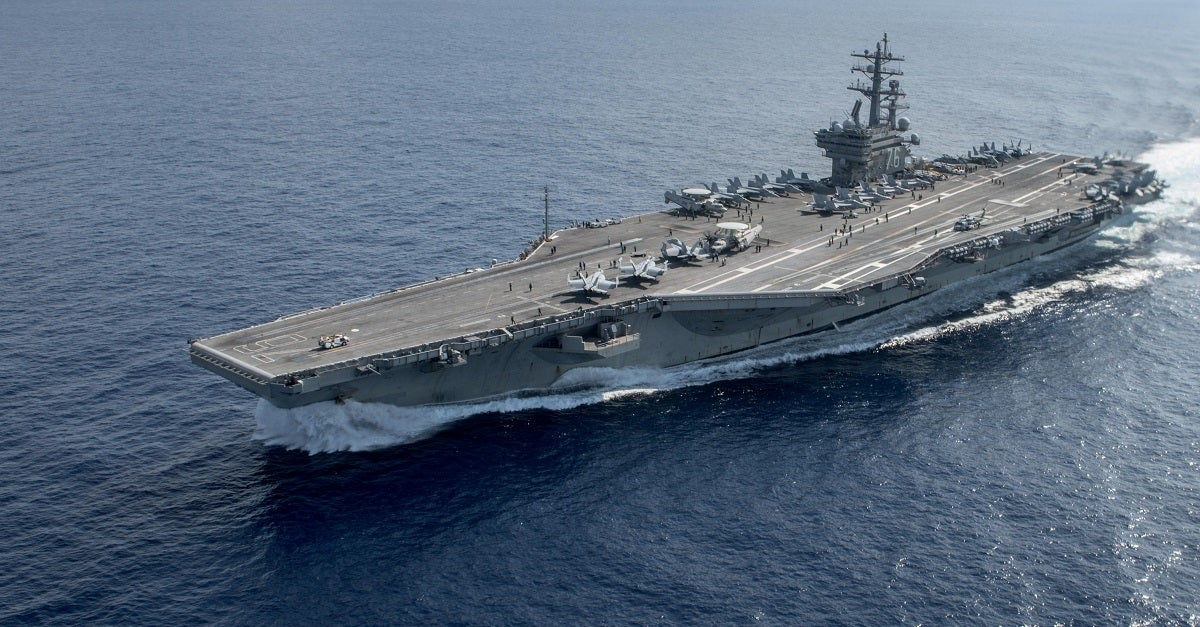 Navy sorties ships out of hurricane's path