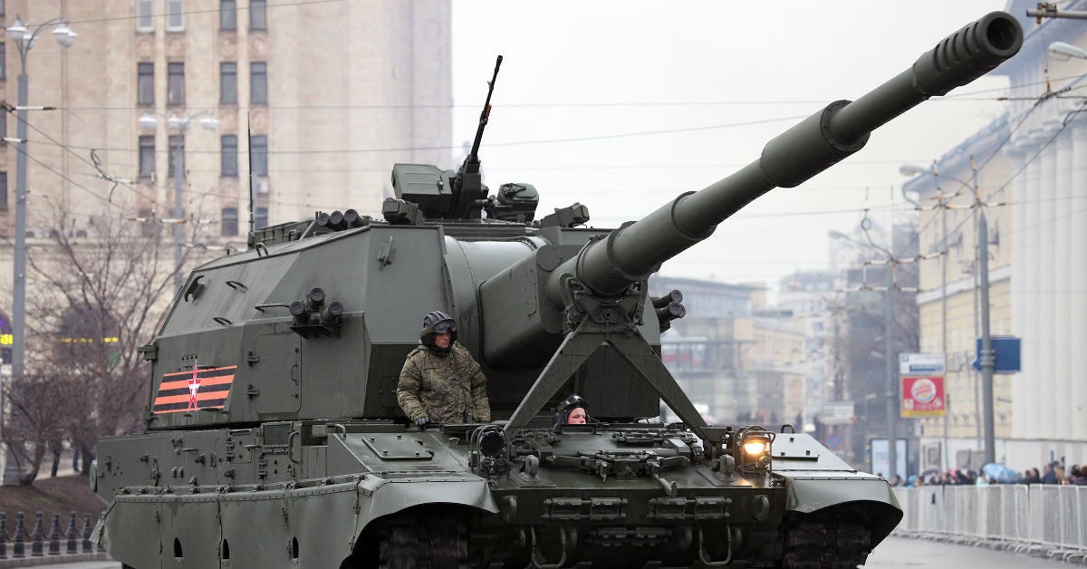 Russia claims its T-14 Armata tank can run on Mars, because why the hell not